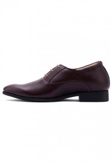 Giày tăng chiều cao Huy Hoàng màu nâu  HV7178
