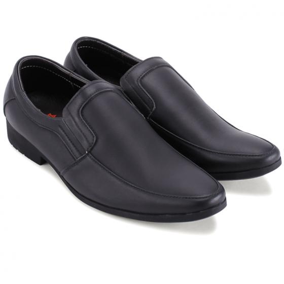 Giày tây nam Huy Hoàng màu đen  HV7706
