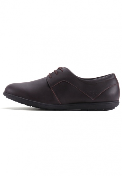 Giày nam Huy Hoàng thời trang cột dây màu nâu HV7712