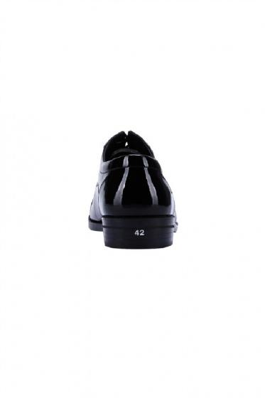 Giày mọi nam Huy Hoàng màu đen  HV7116