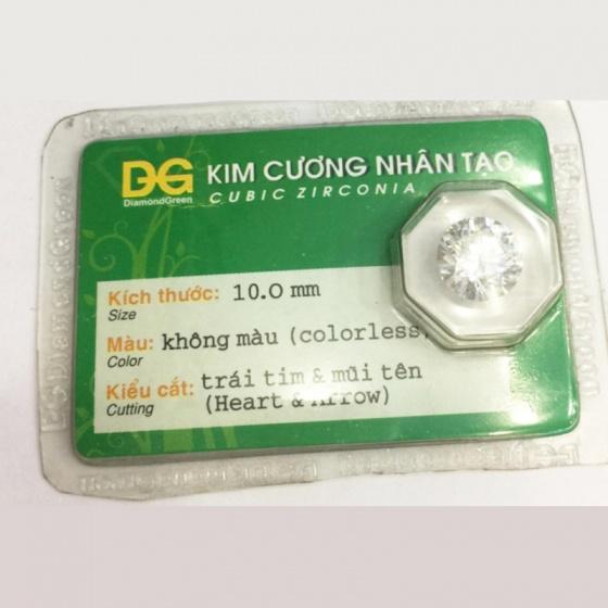 Đá kim cương nhân tạo hàng được kiểm định (10 li) - MDC802