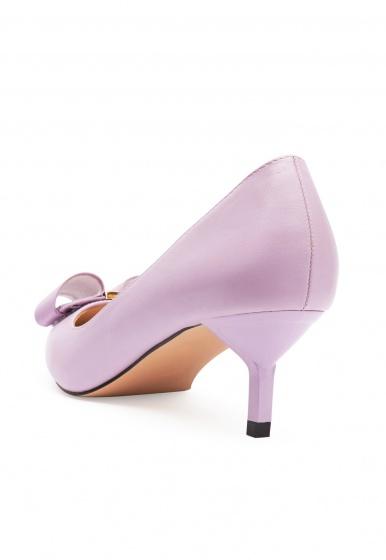Giày cao gót bít mũi đính nơ Girlie S3412303400T0