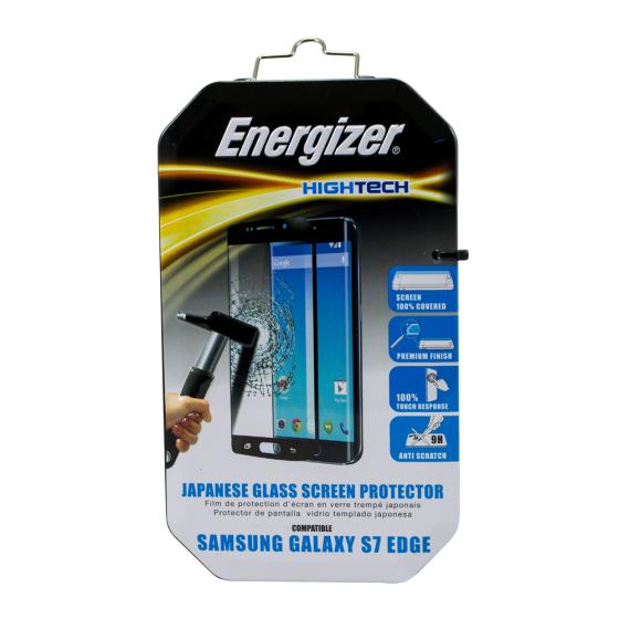 Dán màn hình cường lực full viền Energizer cho Samsung Galaxy S7 Edge - ENHTTGCUS7E
