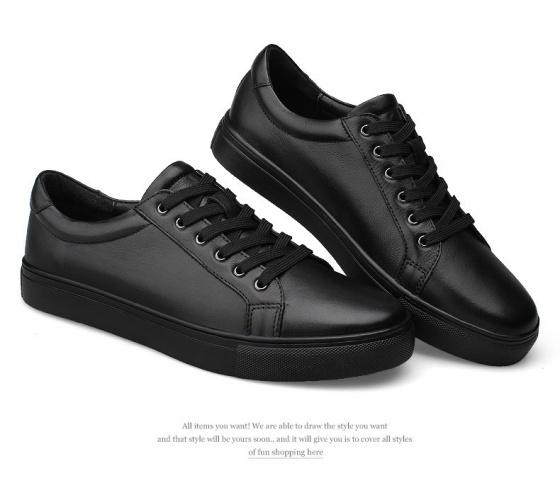 Giày sneaker thời trang nam Zapas – GZ017 (đen)