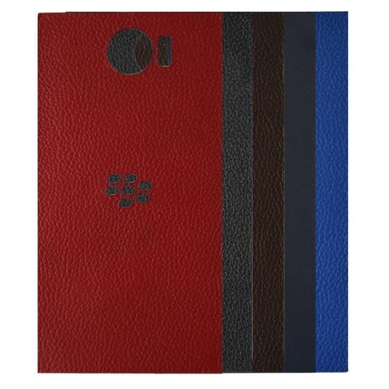 DTR - Dán lưng da Blackberry Priv màu đỏ