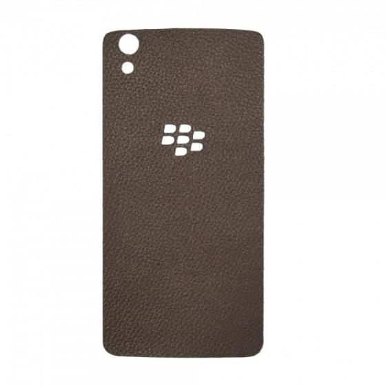 DTR -Dán lưng da Blackberry Dtek50 màu nâu