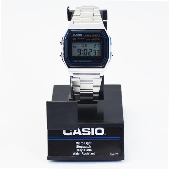 Đồng nam Casio A158WA-1CR hàng nhập khẩu
