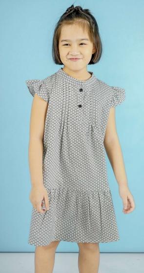 Đầm bé gái Ugether UKID102 (Họa tiết)