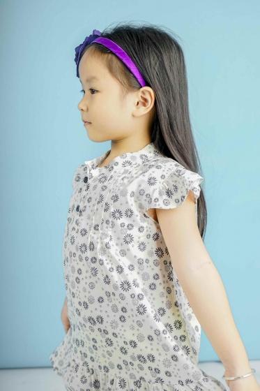 Đầm bé gái Ugether UKID99 (Họa tiết)