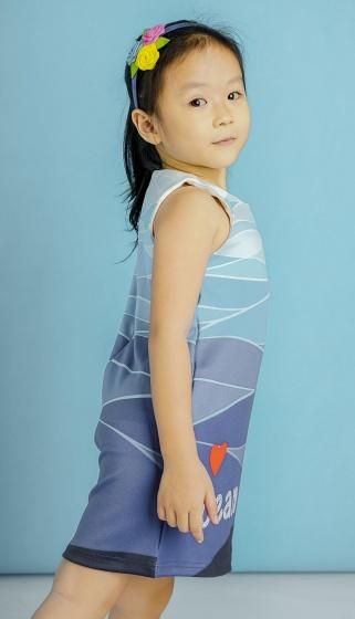 UKID94 - đầm bé gái