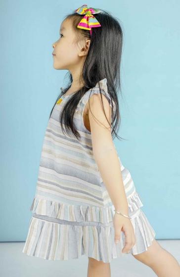 Đầm bé gái Ugether UKID83 (Sọc)