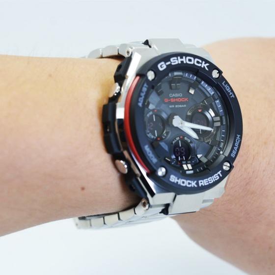 Đồng hồ nam G-Shock GST-S100D-1A4CR - Hàng nhập khẩu