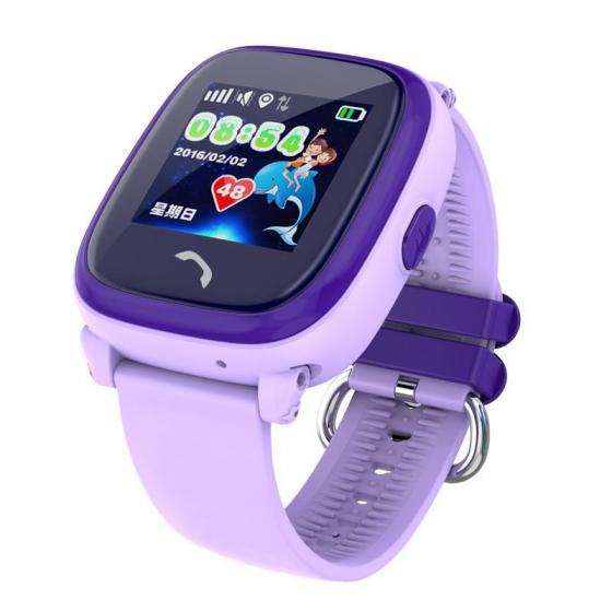 Đồng hồ định vị GPS Wonlex GW400S Chống nước IP67 (tím)