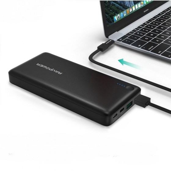 Pin dự phòng Ravpower 20100mAh (RP-PB043) qualcomm quick charge 3.0 USB-C/Type-C Port