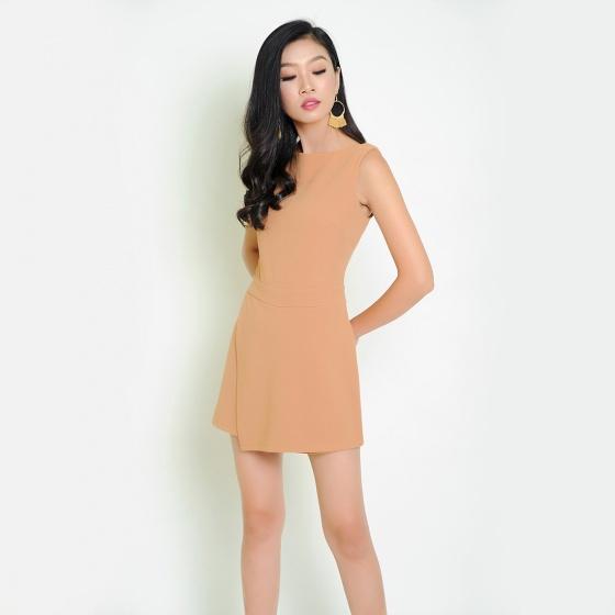 Đầm quần thời trang Eden (Da) - D256