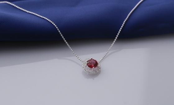 Set mặt kèm dây chuyền bạc và đính đá Ross Opal 14_06