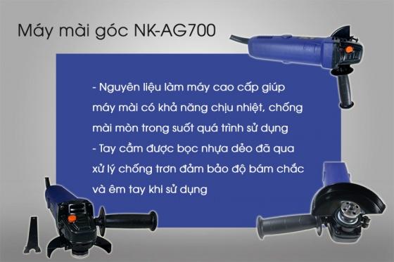 Máy mài góc NK-AG700