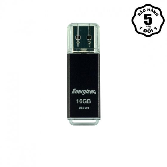 Ổ nhớ Energizer 16GB USB 2.0 - FUSSKC016R (Đen)