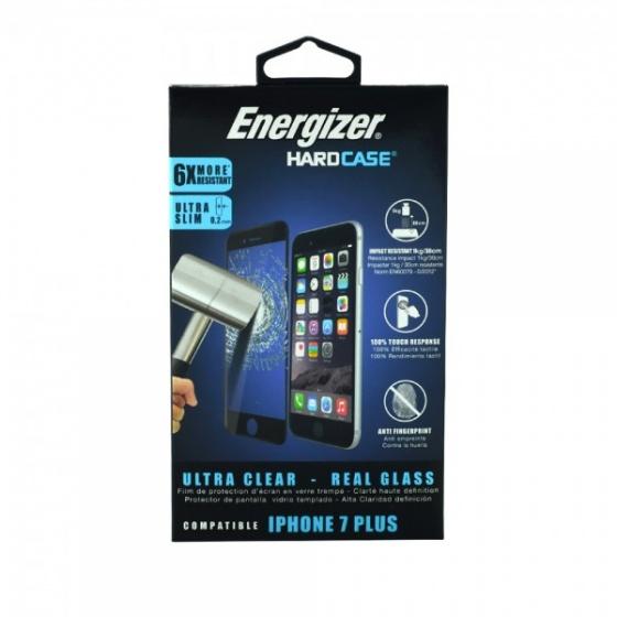 Dán màn hình cường lực full viền siêu mỏng 0,2mm Energizer cho iPhone 7/8 Plus - ENSPPRCLIP7P