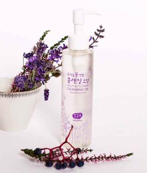 Dầu tẩy trang Whamisa Organic Flowers Cleansing Oil