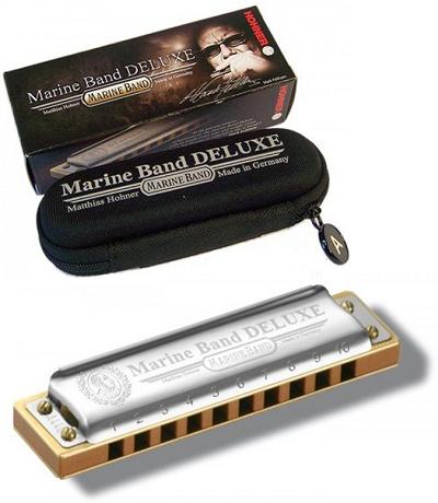 Kèn harmonica diatonic Marine Band Deluxe (Key C)