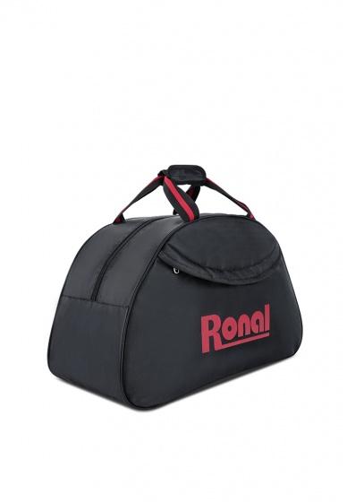 Túi xách thể thao du lịch, tập gym, về quê, lên phố Ronal TX18 - Đen logo đỏ