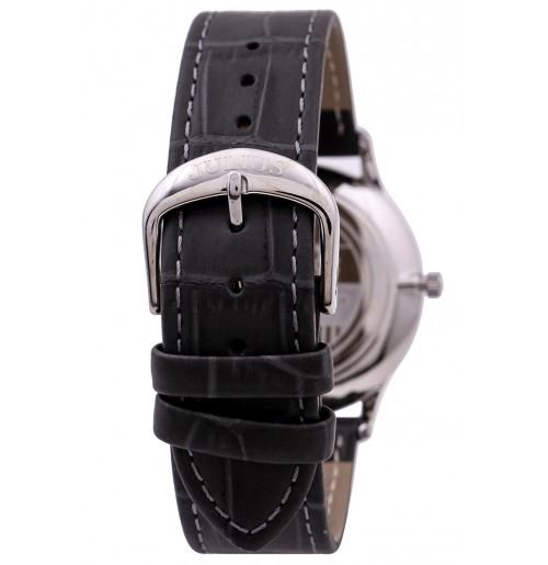 Đồng hồ nam Julius limited Hàn Quốc dây da JAL-042MC (xám)
