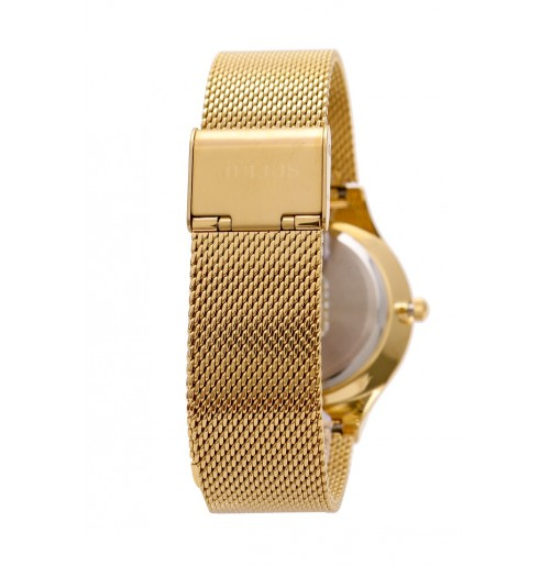 Đồng hồ nam Julius Hàn Quốc dây thép JA-577 JU1129 (vàng)