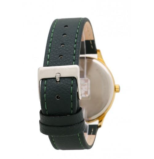 Đồng hồ nam Julius Hàn Quốc dây da JU1181- (xanh rêu đậm)