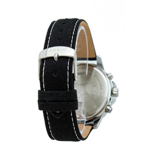Đồng hồ nam Julius JAH-055 JU1095 (đen mặt trắng)