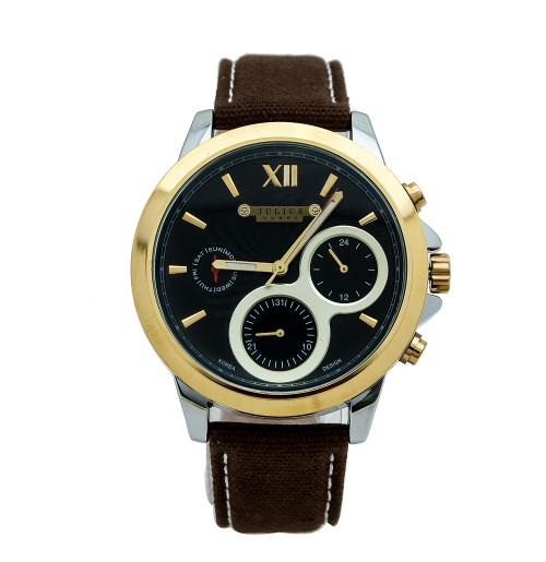 Đồng hồ nam Julius JAH-055 JU1095 (nâu mặt đen)