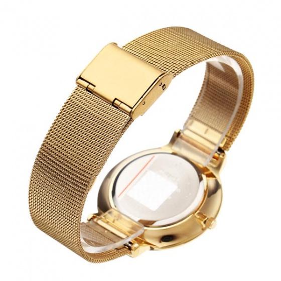 Đồng hồ nam Julius Hàn Quốc dây thép JA-426 JU1052 (vàng)