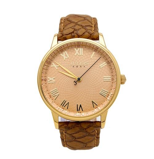 Đồng hồ nam dây da Julius JA-857 JU1049 (nâu)