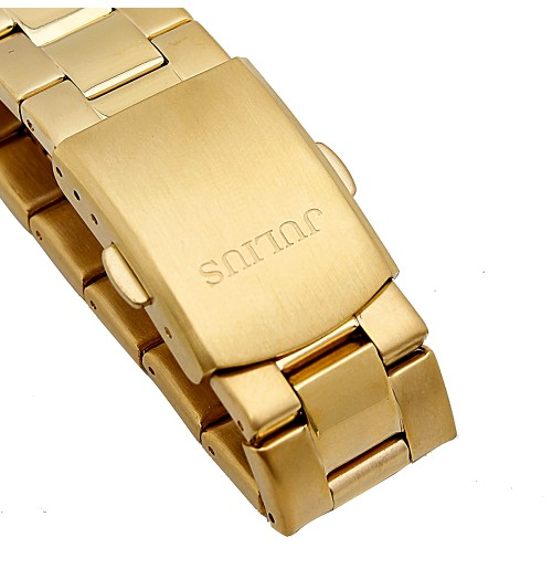 Đồng hồ nam Julius Hàn Quốc 3 máy JAH-091 JU1055 (vàng)