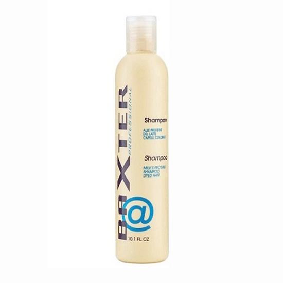 Cặp Gội Hấp giữ màu tóc nhuộm, dưỡng tóc xoăn Protein sữa Baxter 300ml+500ml