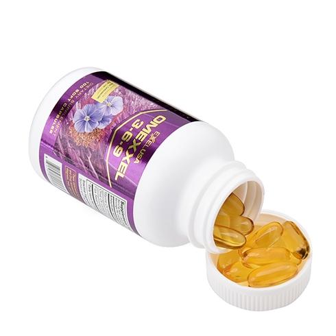 Viên uống bổ tim, bổ não, sáng mắt, đẹp da, hỗ trợ tim mạch Omexxel 3-6-9 (100 viên) - xuất xứ Mỹ