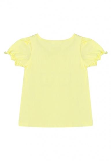 Áo thun tay ngắn bé gái Tiniboo (Vàng)