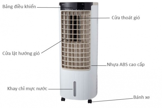 Máy làm mát không khí cao cấp FujiE AC-17C