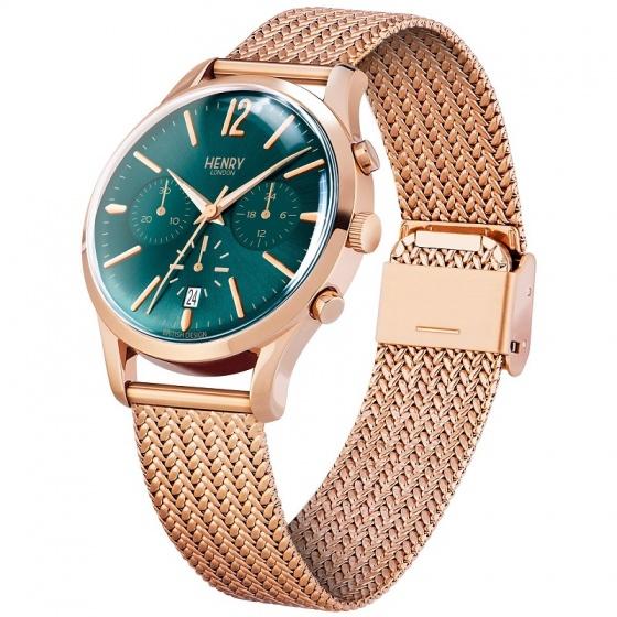 Đồng hồ đôi Henry London HL39-CM-0142 – HL30-UM-0130 Stratford (vàng đồng)