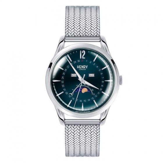 Đồng hồ nam Henry London HL39-LM-0085 Knightsbridge (bạc)