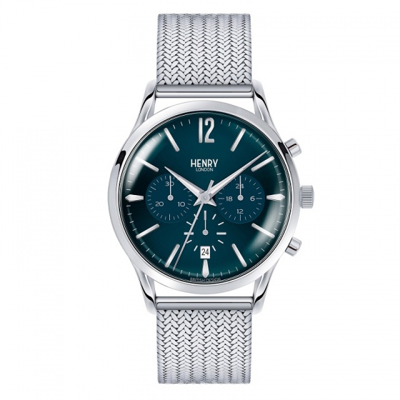 Đồng hồ nam Henry London HL41-CM-0037 Knightsbridge (bạc)