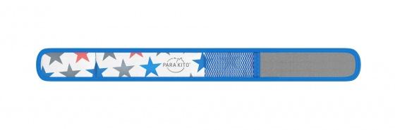 Viên chống muỗi PARA'KITO™ kèm vòng đeo tay bằng vải hoa văn ngôi sao (2 viên chống muỗi)