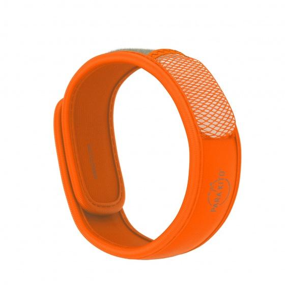 Viên chống muỗi PARA'KITO™ kèm vòng đeo tay bằng vải màu cam (2 viên chống muỗi)