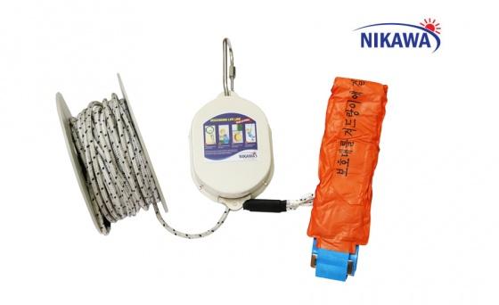 Dây thoát hiểm Nikawa KDD-9F(27m)+giá treo gấp HY02