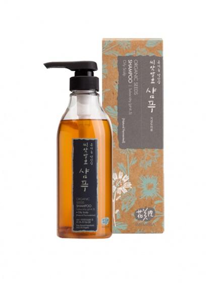Dầu gội đầu Whamisa Organic Seeds Shampoo (Oil Scalp) - Dành cho tóc dầu và tóc thường