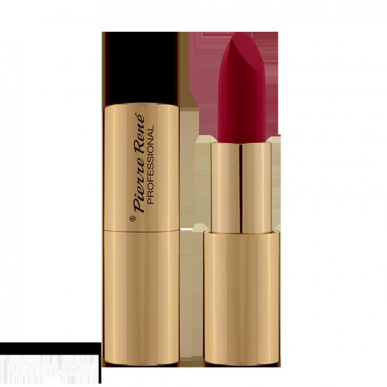 Son lì dưỡng môi màu lâu trôi - Pierre René Royal Matt Lipstick 18 (màu Aurora Red)