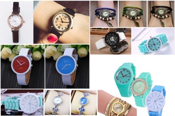 Đồng hồ nữ Julius Hàn Quốc dây da JA-1034A (xanh nhạt)
