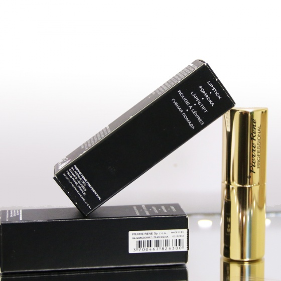 Son lì dưỡng môi màu lâu trôi - Pierre René Royal Matt Lipstick 10 (màu Pink Velour)