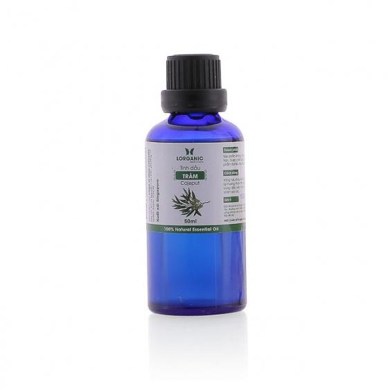 Combo tinh dầu tràm  Lorganic (50ml) + tinh dầu tràm Lorganic treo xe hơi, tủ áo (10ml)