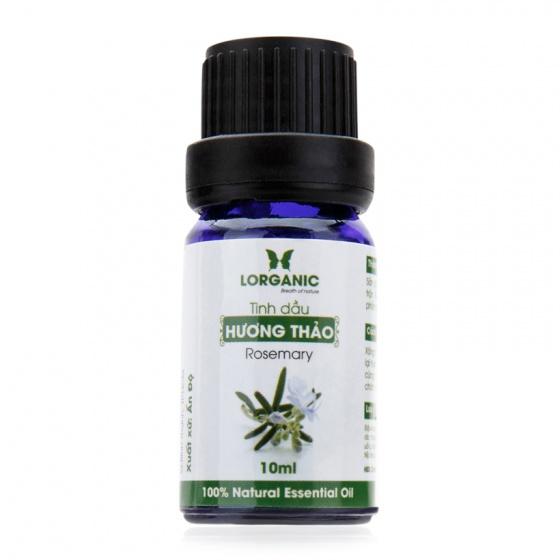 Tinh dầu hương thảo nguyên chất Lorganic rosemary 100% natural essential oil 10ml